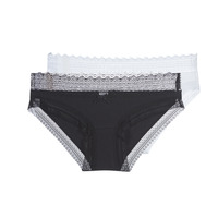 Underwear Women Knickers/panties DIM SEXY FASHION X2 Black / White