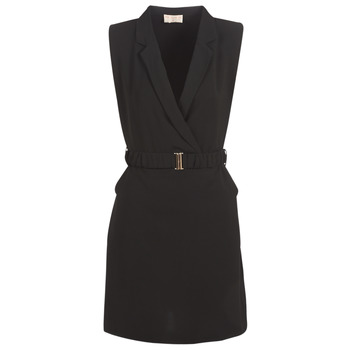 material Women Short Dresses Moony Mood KOAL Black