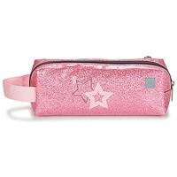 Bags Girl Pouches Citrouille et Compagnie CITELLE Pink / Grey