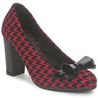 Shoes Women Court shoes Maloles CINTA Red / Black