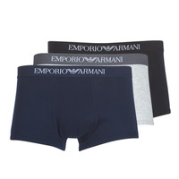 Underwear Men Boxer shorts Emporio Armani CC722-111610-94235 Marine / Grey / Black