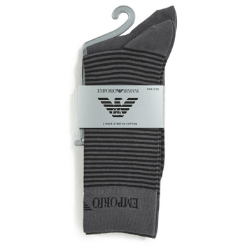 Accessorie Men Socks Emporio Armani CC114-302302-00044 Grey