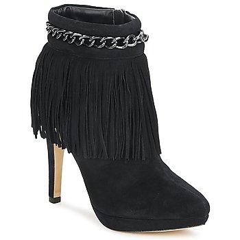 Shoes Women Ankle boots Bourne SANDY Black