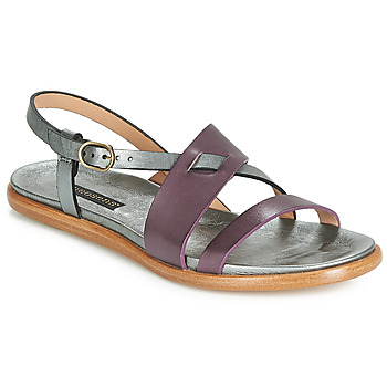Shoes Women Sandals Neosens AURORA Silver / Prune