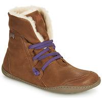 Shoes Women Mid boots Camper PEU CAMI No / Color