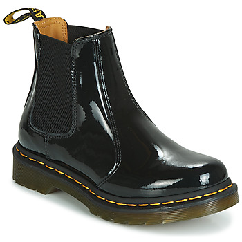 Shoes Women Mid boots Dr Martens 2976 PATENT LAMPER Black