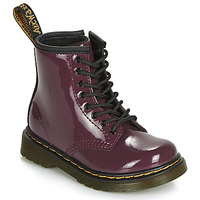 Shoes Girl Mid boots Dr Martens 1460 PATENT TODDLER Violet