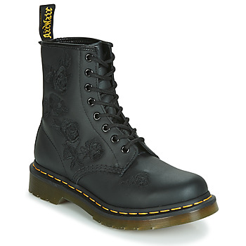 Shoes Women Mid boots Dr Martens 1460 VONDA MONO SOFTY T Black