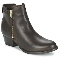 Shoes Women Mid boots Shoe Biz ROVELLA Brown