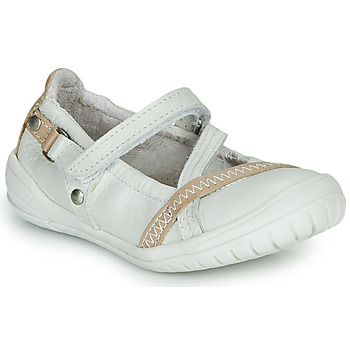 Shoes Girl Ballerinas Ramdam BEZIERS White