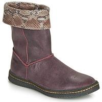 Shoes Girl Boots Ramdam CRACOVIE Bordeaux