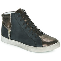 Shoes Girl High top trainers Achile CARLA Black