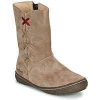 Shoes Girl Boots Achile SOFIA Beige