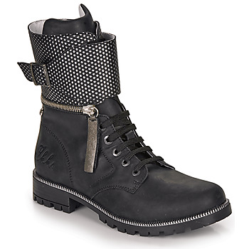 Shoes Girl Boots Ikks PEGGY Black