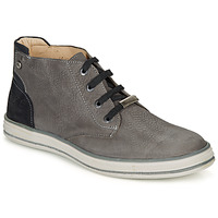Shoes Boy Mid boots Ikks MARK Grey