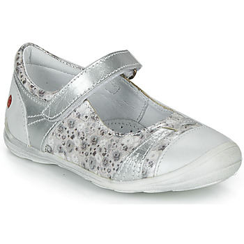 Shoes Girl Ballerinas GBB PRINCESSE Silver