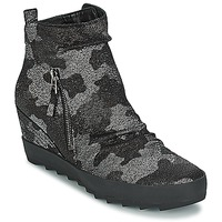 Shoes Women Mid boots Kennel + Schmenger ALISA Grey