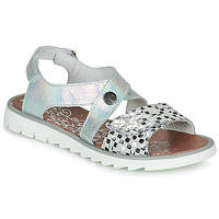 Shoes Girl Sandals Achile HIKARI Silver