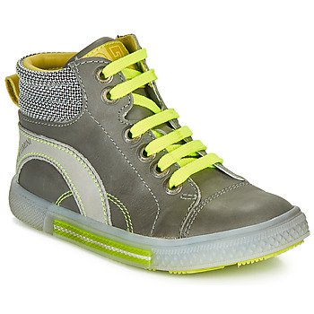 Shoes Boy High top trainers Catimini PAPYRUS Grey