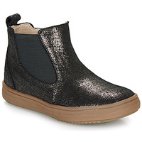 Shoes Girl Mid boots Citrouille et Compagnie PEPINA Black