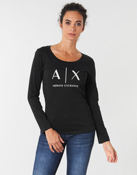 material Women Long sleeved shirts Armani Exchange 8NYTDG-YJ16Z-1200 Black