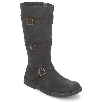 Shoes Women Boots Kickers LOCKNESS Black