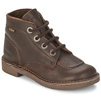 Shoes Children Mid boots Kickers KICK COL Brown
