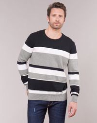 material Men jumpers Casual Attitude LORISS Black / Grey