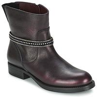 Shoes Girl Mid boots Unisa GEMA BORDEAUX