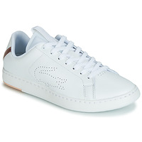 Shoes Women Low top trainers Lacoste CARNABY EVO LIGHT-WT 119 3 White / Pink