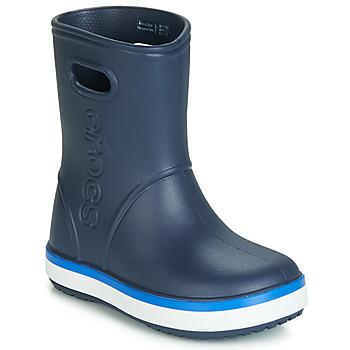 Shoes Children Wellington boots Crocs CROCBAND RAIN BOOT K Marine