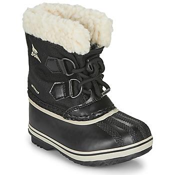 Shoes Children Snow boots Sorel CHILDRENS YOOT PAC NYLON Black