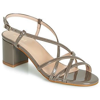 Shoes Women Sandals André CHIARA Taupe