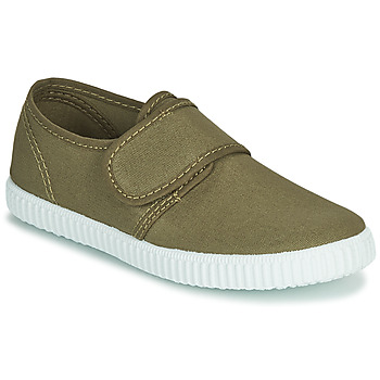 Shoes Boy Low top trainers André CARGO Kaki