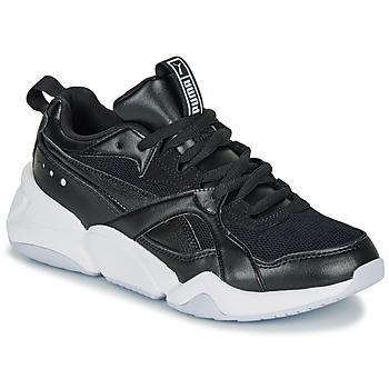 Shoes Women Low top trainers Puma NOVA 2. W Black