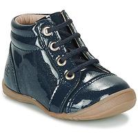 Shoes Girl Mid boots Citrouille et Compagnie NICOLE.C Marine / Glitter / Dtx / Kezia
