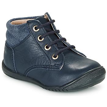 Shoes Boy Mid boots Citrouille et Compagnie RATON.C Vtc / Marine / Dtx / Raiza