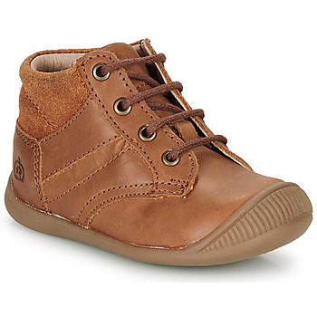 Shoes Boy Mid boots Citrouille et Compagnie RATON.C Vtc / Brown / Dtx / Raiza