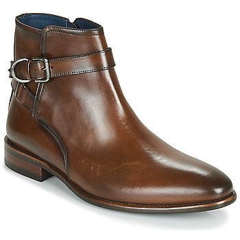 Shoes Men Mid boots Brett & Sons ROBERTO Cognac