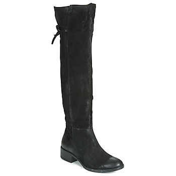 Shoes Women High boots Dream in Green LAMME Black