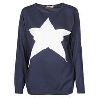 material Women jumpers Moony Mood LATOO Marine