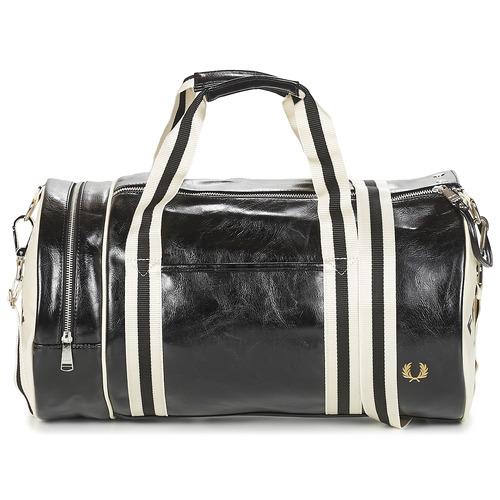 Bags Men Sports bags Fred Perry CLASSIC BARREL BAG Black