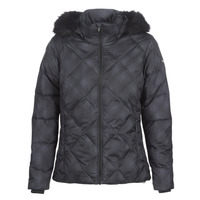 material Women Duffel coats Columbia ICY HEIGHTS II DOWN JACKET Black