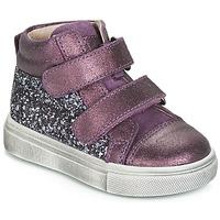 Shoes Girl High top trainers Acebo's 5299AV-LILA-C Violet