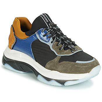 Shoes Women Low top trainers Bronx BAISLEY Kaki / Black / Blue