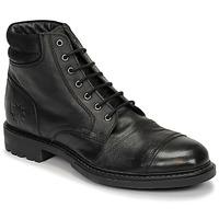 Shoes Men Mid boots Base London REPTON Black