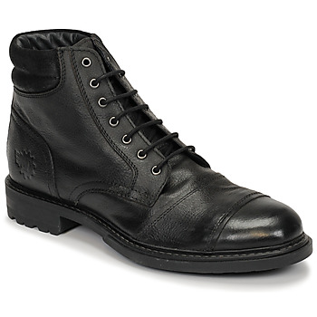 Shoes Men Mid boots Base London REPTON Black