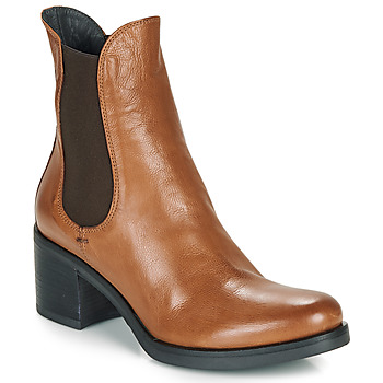 Shoes Women Ankle boots Now VENETO Cognac
