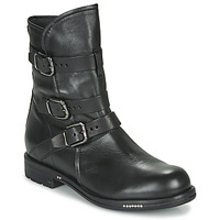 Shoes Women Mid boots Now PESCARA Black
