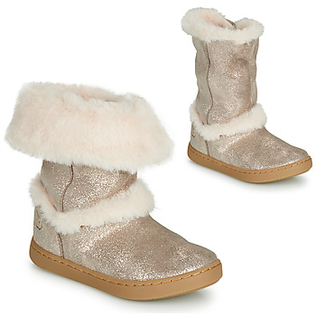 Shoes Girl Mid boots Shoo Pom PLAY MOOT Silver